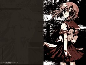 Rating: Safe Score: 11 Tags: blood chronolog higurashi_no_naku_koro_ni i.s.w ryuuguu_rena sakurazawa_izumi wallpaper User: noirblack