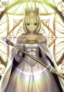 Rating: Safe Score: 85 Tags: dress fate/stay_night fate/zero koyama_hirokazu saber takeuchi_takashi type-moon User: slamence