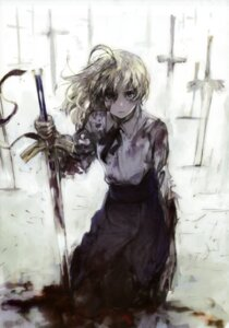 Rating: Safe Score: 31 Tags: blood fate/stay_night saber sword toi8 User: HIGHGOOD525