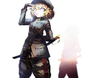 Rating: Safe Score: 23 Tags: haymanc sword tanya_degurechaff uniform youjo_senki User: charunetra
