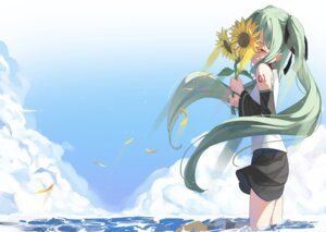 Rating: Safe Score: 17 Tags: hatsune_miku kimyo skirt_lift tattoo vocaloid wet User: yanis