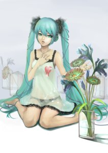 Rating: Questionable Score: 18 Tags: dress hatsune_miku headphones m874 pantsu see_through vocaloid world_is_mine_(vocaloid) User: charunetra