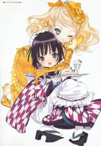 Rating: Safe Score: 22 Tags: alice_blanche ikoku_meiro_no_croisee kimono lolita_fashion takeda_hinata yune User: MDGeist