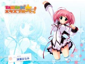 Rating: Questionable Score: 30 Tags: hayase_manami kamikaze_explorer oshiki_hitoshi seifuku wallpaper User: NeoReaper