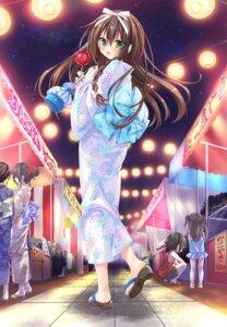 Rating: Safe Score: 45 Tags: game_cg hanasaki_sakura lass_pixy moriyama_shijimi pure_marriage_~akai_ito_monogatari_sakura_hen~ yukata User: aika1998