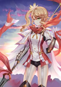 Rating: Safe Score: 40 Tags: aaeru alisha_diphda armor tales_of_zestiria weapon User: Mr_GT
