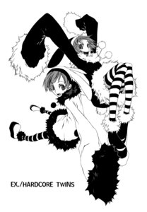 Rating: Safe Score: 8 Tags: dogs heterochromia luki miwa_shirow monochrome noki User: sei