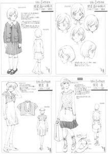 Rating: Safe Score: 2 Tags: dress heels rahxephon seifuku sketch yamada_akihiro User: Radioactive