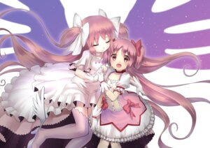 Rating: Safe Score: 20 Tags: dress heels kaname_madoka puella_magi_madoka_magica rin2008 thighhighs ultimate_madoka wings User: Mr_GT