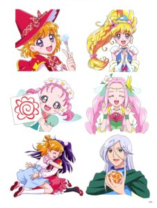 Rating: Safe Score: 4 Tags: asahina_mirai haa-chan_(precure) izayoi_riko mahou_girls_precure! pretty_cure tagme wings witch User: drop