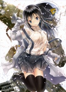 Rating: Questionable Score: 57 Tags: asashio_(kancolle) kantai_collection thighhighs yae_(mono) User: drop