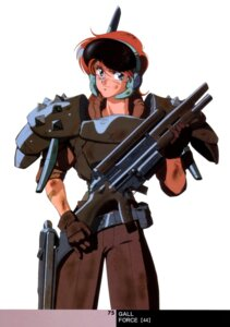 Rating: Safe Score: 3 Tags: armor gall_force gun sandy_newman sonoda_kenichi User: Radioactive