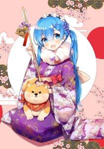 Rating: Safe Score: 50 Tags: ayami_(annahibi) kimono re_zero_kara_hajimeru_isekai_seikatsu rem_(re_zero) User: Mr_GT