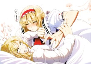 Rating: Safe Score: 25 Tags: alice_margatroid gap imizu kirisame_marisa touhou yuri User: Radioactive