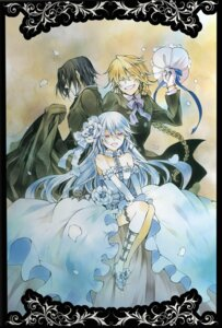 Rating: Safe Score: 18 Tags: dress glen_baskerville jack_vessalius mochizuki_jun pandora_hearts wedding_dress will_of_the_abyss User: hirotn