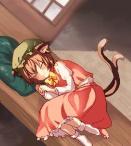 Rating: Safe Score: 24 Tags: animal_ears chen tagme tail touhou User: Mr_GT