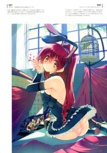 Rating: Questionable Score: 31 Tags: amaduyu_tatsuki animal_ears ass bunny_ears kousaka_tamaki pantsu skirt_lift thighhighs to_heart_(series) to_heart_2 User: Radioactive
