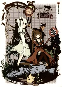 Rating: Safe Score: 78 Tags: animal_ears chocola ideolo lolita_fashion neko_works nekomimi stockings tail thighhighs vanilla User: midzki