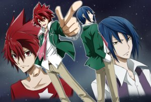 Rating: Safe Score: 5 Tags: male seifuku shindou_sugata star_driver tsunashi_takuto tsunoda_wei User: charunetra