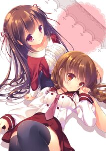 Rating: Safe Score: 48 Tags: seifuku thighhighs totsuka yuri User: 椎名深夏