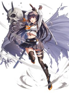 Rating: Questionable Score: 24 Tags: aliceblue bandaid garter monster shirt_lift skirt_lift sword thighhighs torn_clothes User: hiroimo2