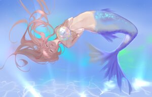 Rating: Questionable Score: 16 Tags: iron_(2486886134) mermaid monster_girl tail topless User: charunetra