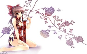 Rating: Safe Score: 49 Tags: chinadress cleavage feet tagme wallpaper windforcelan User: 切克闹