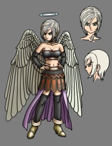 Rating: Safe Score: 3 Tags: angel dragon_quest_ix thighhighs toriyama_akira transparent_png wings User: Radioactive