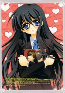 Rating: Safe Score: 32 Tags: carnelian megane seifuku tsurugi_no_mai! User: MirrorMagpie