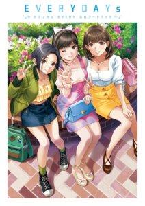 Rating: Safe Score: 22 Tags: anegasaki_nene cleavage kobayakawa_rinko love_plus tagme takane_manaka User: saemonnokami