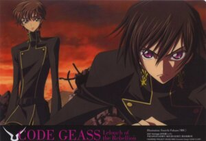 Rating: Safe Score: 9 Tags: code_geass fukano_youichi kururugi_suzaku lelouch_lamperouge male User: Hitou