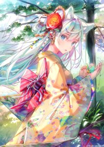 Rating: Questionable Score: 65 Tags: animal_ears dsmile japanese_clothes tagme tsundere_is_love User: kiyoe