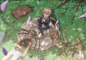 Rating: Safe Score: 18 Tags: dress erica_brown iris_cannary kazeno violet_evergarden violet_evergarden_(character) User: Mr_GT