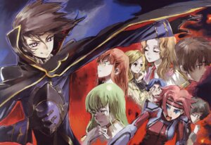 Rating: Safe Score: 7 Tags: c.c. code_geass kallen_stadtfeld kururugi_suzaku lelouch_lamperouge milly_ashford nina_einstein nunnally_lamperouge rivalz_cardemonde shirley_fenette toi8 User: Radioactive