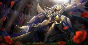 Rating: Safe Score: 21 Tags: angel armor dress mecha pinakes wings User: eridani