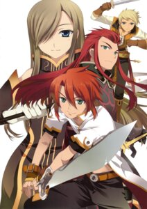 Rating: Questionable Score: 8 Tags: asch fujima_takuya luke_fone_fabre sword tales_of tales_of_the_abyss tear_grants User: crim