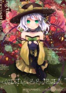 Rating: Safe Score: 28 Tags: komeiji_koishi nanashina touhou User: SciFi