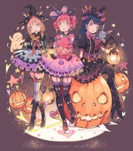 Rating: Safe Score: 24 Tags: halloween kunikida_hanamaru kurosawa_ruby love_live!_sunshine!! qianqian thighhighs tsushima_yoshiko User: Mr_GT