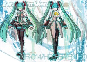 Rating: Safe Score: 13 Tags: crease fei_yen hatsune_miku katoki_hajime mecha mecha_musume virtual_on vocaloid User: Rid