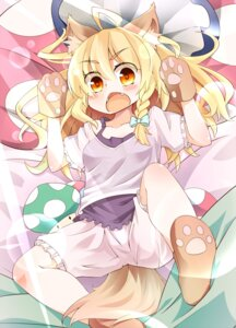 Rating: Safe Score: 22 Tags: animal_ears bloomers dorowa_no_hito inumimi kirisame_marisa tail touhou User: Mr_GT
