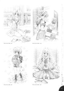 Rating: Safe Score: 5 Tags: azuma_io carnelian harukawa_tomomi kurihara_sayaka monochrome moonlight_lady orbit sawaguchi_chikako User: WtfCakes