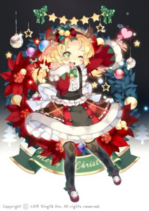 Rating: Safe Score: 16 Tags: btoor christmas cosette_(sid_story) horns sid_story thighhighs watermark User: Mr_GT