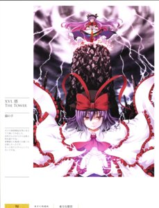 Rating: Safe Score: 7 Tags: hinanawi_tenshi nagae_iku nekonote touhou User: Radioactive