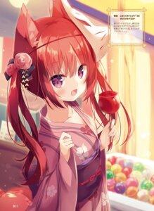 Rating: Safe Score: 51 Tags: animal_ears hoshi kitsune tail yukata User: Twinsenzw