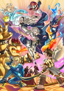 Rating: Safe Score: 19 Tags: armor bodysuit bowser crossover dress elis_(fire_emblem) fire_emblem greninja gun heels kamui_(fire_emblem) kozaki_yuusuke mario mario_bros. nintendo pit pointy_ears pokemon rosalina ryoma_(fire_emblem) samus_aran super_smash_bros. sword weapon wings xander_(fire_emblem) User: Radioactive