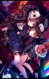 Rating: Questionable Score: 13 Tags: blood garter lolita_fashion thighhighs tokikosann User: Dreista