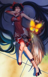 Rating: Safe Score: 50 Tags: blade_&_soul darkmuleth dress heels pantsu tail User: charunetra