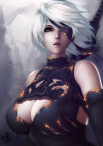 Rating: Safe Score: 28 Tags: cleavage eyepatch nier_automata sword torn_clothes yorha_no.2_type_b z:d User: mash
