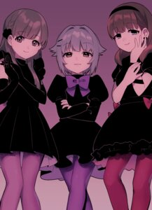 Rating: Safe Score: 29 Tags: dress kobayakawa_sae koshimizu_sachiko pantyhose sakuma_mayu the_idolm@ster the_idolm@ster_cinderella_girls uso_(ameuzaki) User: Mr_GT
