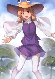 Rating: Safe Score: 29 Tags: moriya_suwako notsugimi thighhighs touhou User: nphuongsun93